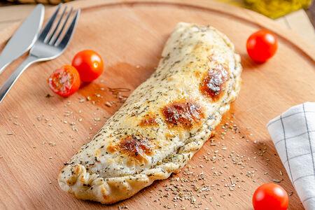 Пицца Кальцоне Ветчина-грибы
