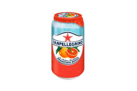 Напиток Sanpellegrino Aranciata Rossa красный апельсин