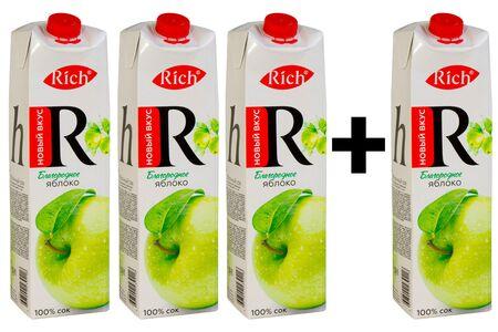 Rich Яблоко 3+1