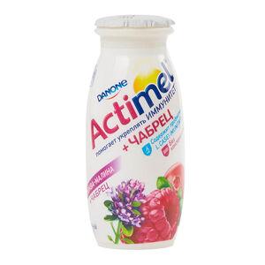 Actimel 2,5% клюква-малина-чабрец