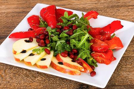Овощной салат на гриле
