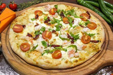 Пицца Любимая с креветками