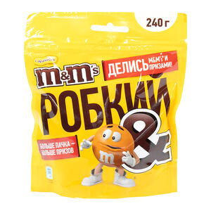 M&M's арахис-молочный шоколад