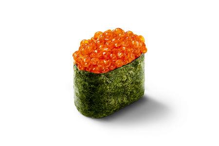 Суши Икура с икрой лосося