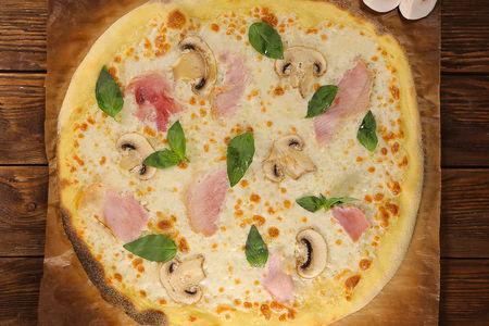 Пицца Грибная со сливками