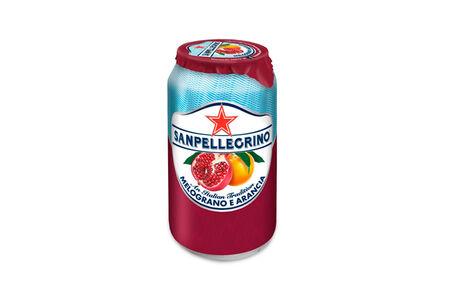 Напиток Sanpellegrino Melograno e Arancia гранат-апельсин