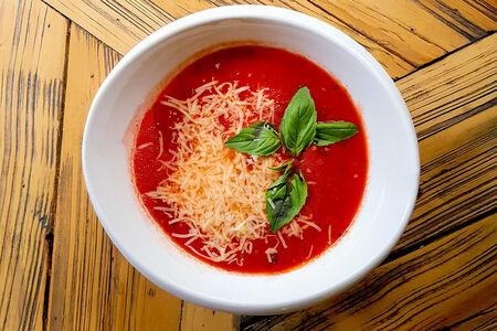 Томатный суп-пюре с прованскими травами