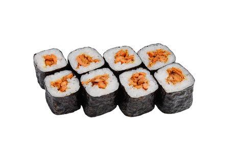 Ролл Хосомаки с лососем гриль