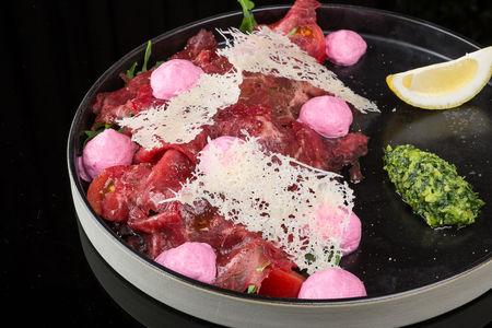 Карпаччо из говядины