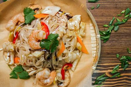 Лапша с морепродуктами Фо Сао Хай Шан