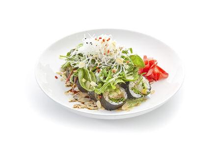 Кранч ролл с хумусом из эдамаме