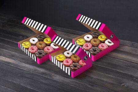 Набор Двадцать четыре пончика