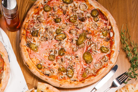Пицца Пепе Халапеньо