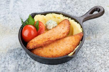 Котлеты из лосося и судака