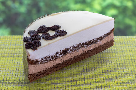 Торт Три Шоколада половинка