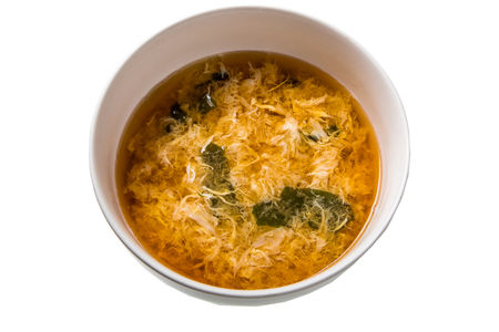 Мисо-суп с яйцом