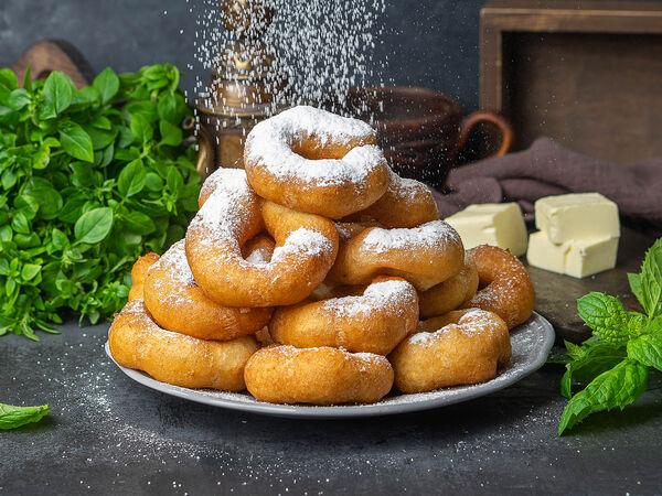 Пончики! выпекаем на месте