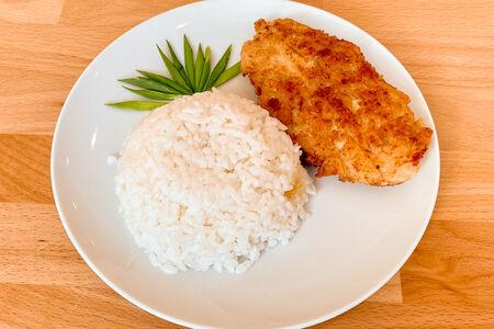Шницель Куриный с рисом