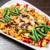 Фото к позиции меню Теппаньяки Рис с овощами