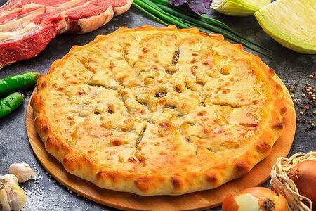 Осетинский пирог с мясом и капустой