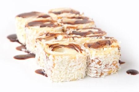 Ролл Ананас с шоколадом