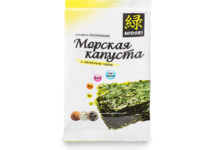 Морская капуста зеленый чай