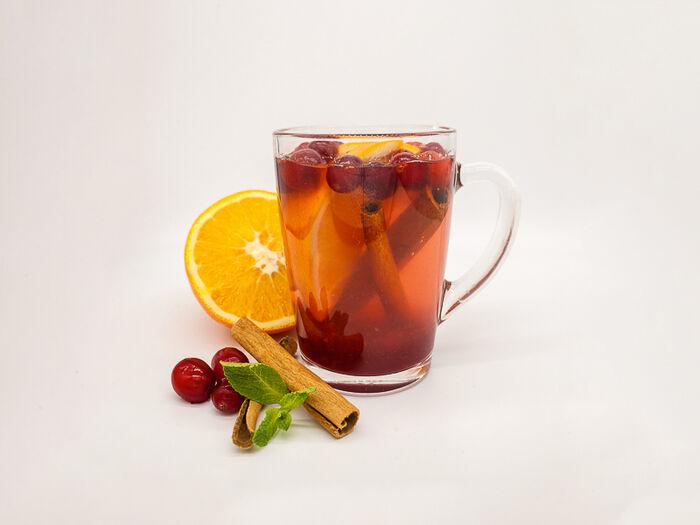 Чай Не чайный чай Клюквенный