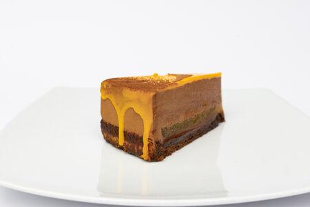 Торт Апельсиновый трюфель