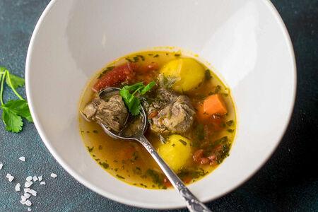 Суп Шурпа из баранины