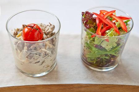 Бефстроганов с грибами и сливочным соусом