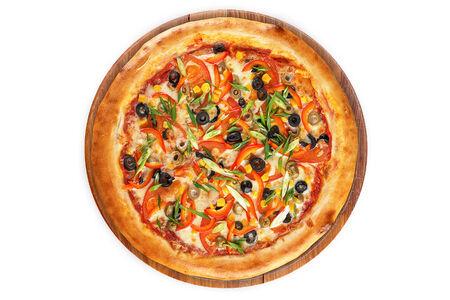 Пицца Вегетта на пышном тесте