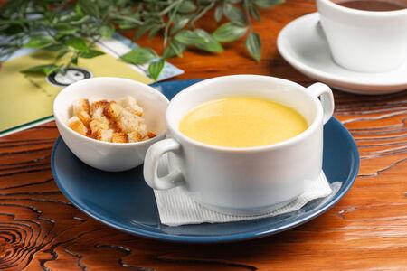 Сырный суп-крем