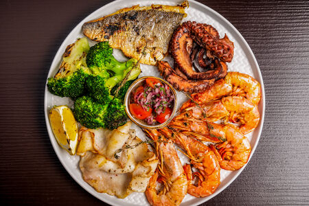 Гриль-сет морепродуктов
