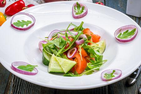 Салат Овощной с оливковым маслом