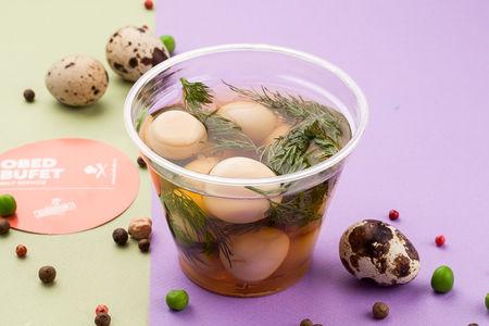 Яйца перепелиные маринованные