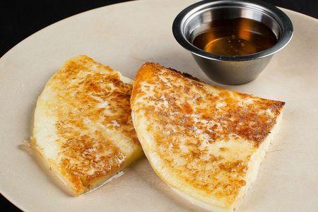 Сыр сулугуни жареный