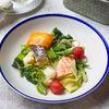Фото к позиции меню Филе лосося с овощами