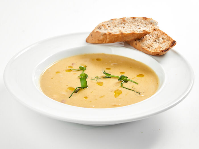 Суп Чаудер с сыром чеддер