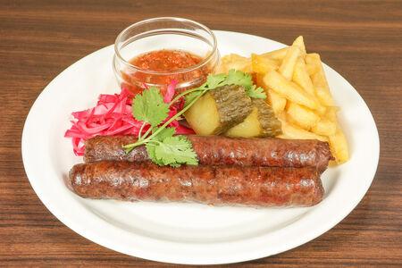 Колбаска говяжья
