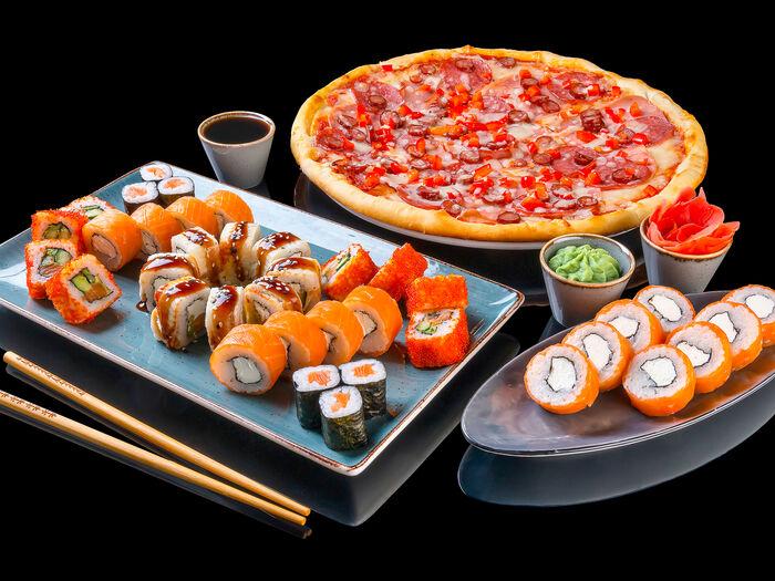 Суши и пицца с доставкой