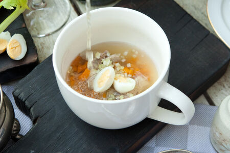 Французский суп Консоме