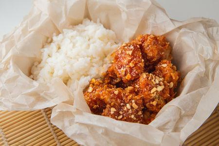 Чикен с рисом