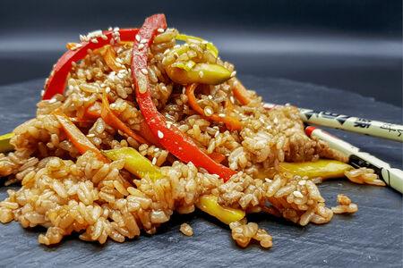 Рис Вок со свининой
