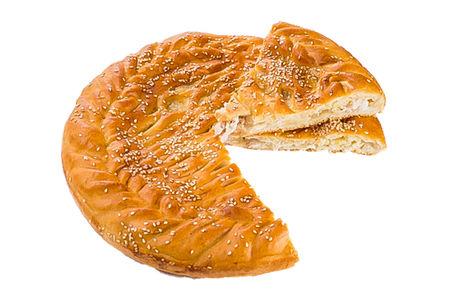 Пирог с курицей и ананасом