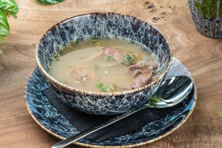 Суп Чечевичный с пастрами