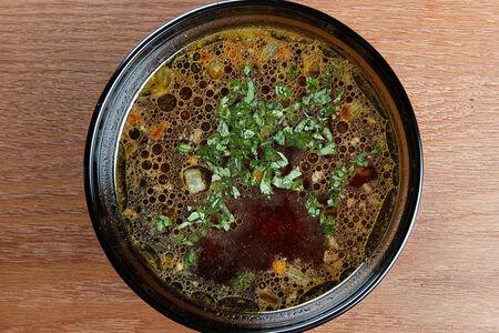 Наваристый говяжий суп
