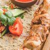 Фото к позиции меню Шашлык из куриного бедра