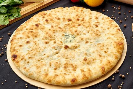 Осетинский пирог с сыром и черемшей