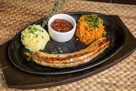 Колбаска №3 Свинина с сыром