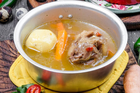 Суп Гурама из бычьих хвостов